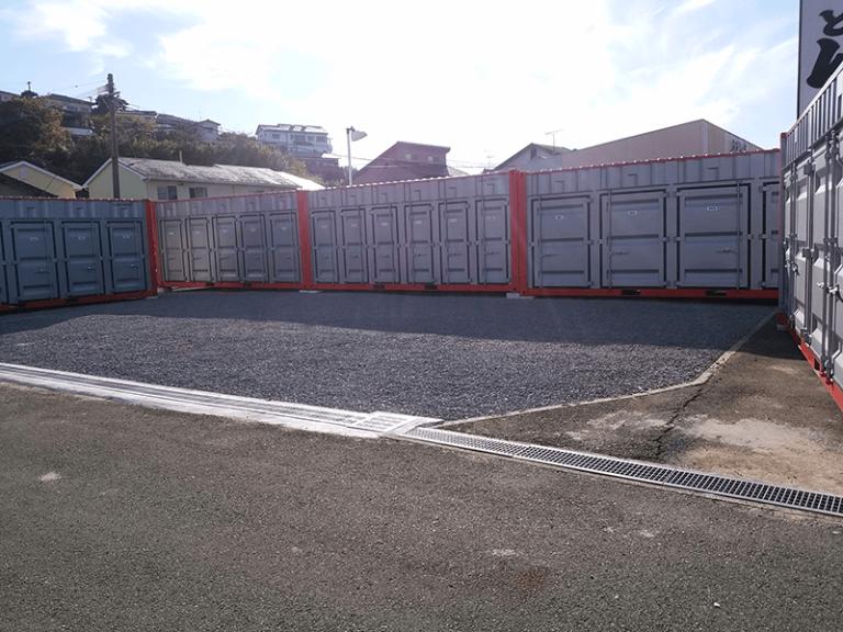 諫早市小野町店 | トランクルーム・貸倉庫ならプラスワンコンテナ